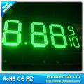 outdoor led screen gas price sign