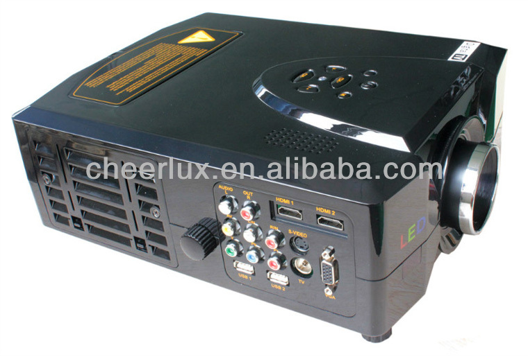 large screen home theater projector with hdmi&usb for dvd/pc/laptop/mp3/mp4