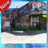 2014 Guangzhou newest china 4d 5d cinema simulator with Latest Advanced technology xd theatre