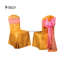 restaurant furniture poly banquet chair cover for wedding in sales