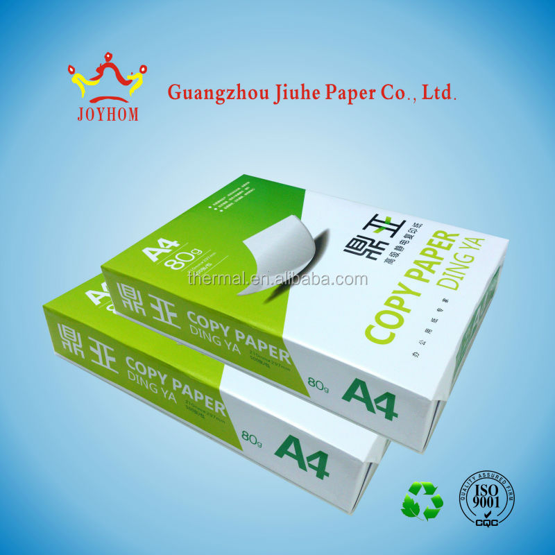 A4 paper ream and price from a4 paper manufacturer in China