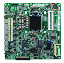 Firewall motherboard B75 for 6 LAN Intel 82574L GbE LGA 1155 supports SSD 3G WiFi IDE CF firewall server