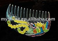 China classical silver jewelry hair combs wedding SC-7