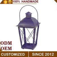 Classic Style Handmade Garden Decorative Wrought Bracket Lanterns