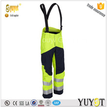 NFPA Certificate Hi-Vish Ligh Green Fire Resistant Trousers With 3M reflective tpae