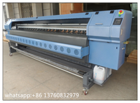 3.2m konica solvent printer, flex printing machine with konica 512 heads