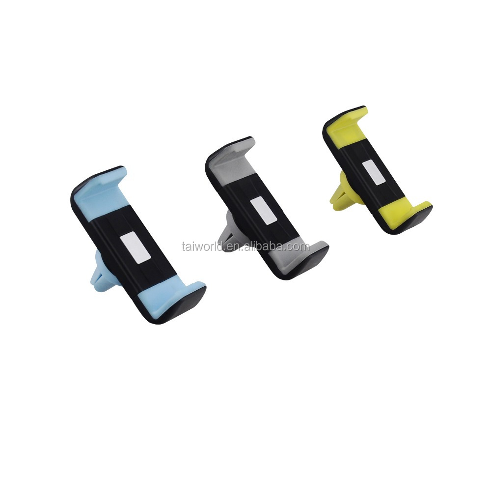 Colorful 360 Degree Rotate car universal air vent mobile phone holder
