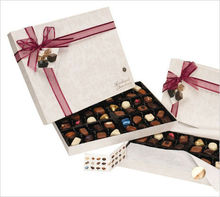 Rectagle bespoke paper boxed chocolate brand wholesale