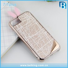 Handmade Rabbit PC Hybrid Case For iPhone 7 Plastic 2In1 Cover, For iPhone7 7Plus Phone Case