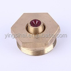 Hexagon Ruby Wire Guide & Ruby Water Nozzle for Wire EDM
