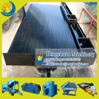 China Supplier Qingzhou Hengchuan Griavity Concentrate Vibrating Table for Gold,Tin,Columbium,Tantalum,Titanium,Barium etc
