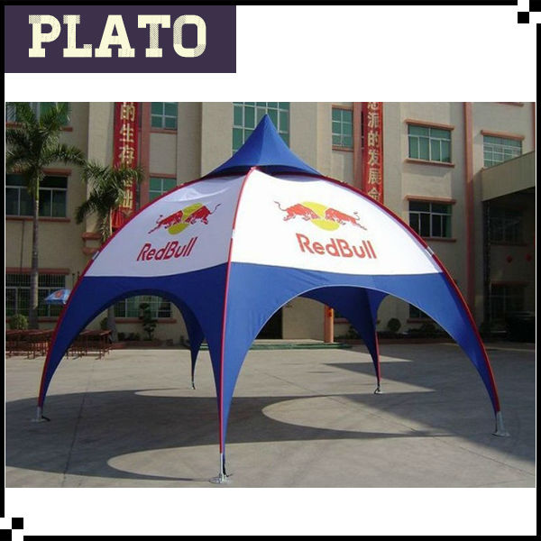 Commercial 6*6m arch tents/spider tents/red bull event tents for sale