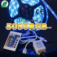 2012 Most bright 12v 5 meters 5m rgb led strip waterproof 300 smd 5050