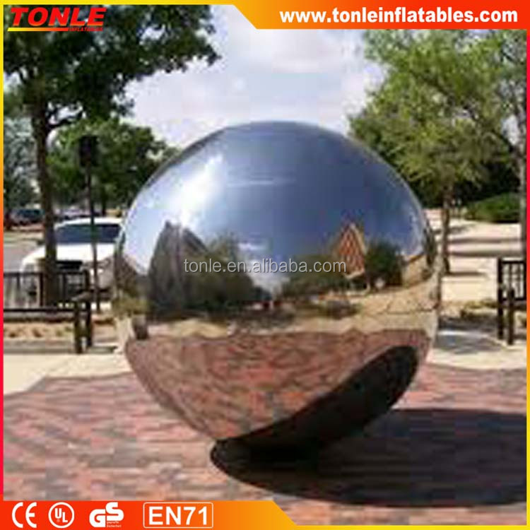 Giant inflatable Disco Mirror Balls, Large inflatable Party Silver Ball for party/ wedding/ event/ decoration