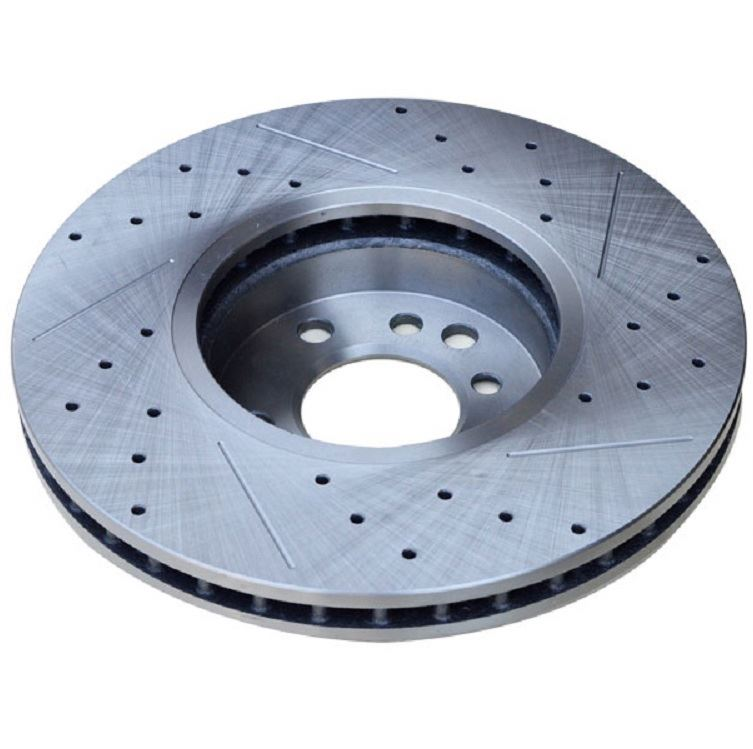 slotted straight grooves mortocycle brake disc pad rotor