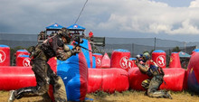 Inflatable paintball shooting range,paintball inflatable bunkers