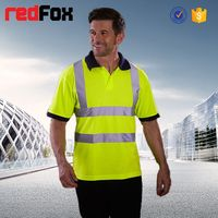 Wholesale High Quality Reflective Safety Polo