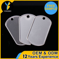 wholesale custom promotional Metal Military Dog Tag OEM welcome