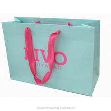 2014 new products kraft material paper bag for shopping