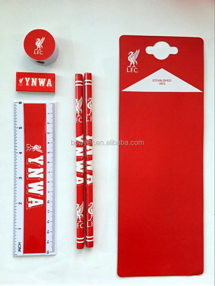attractive 5pc stationery set for students back to shcool
