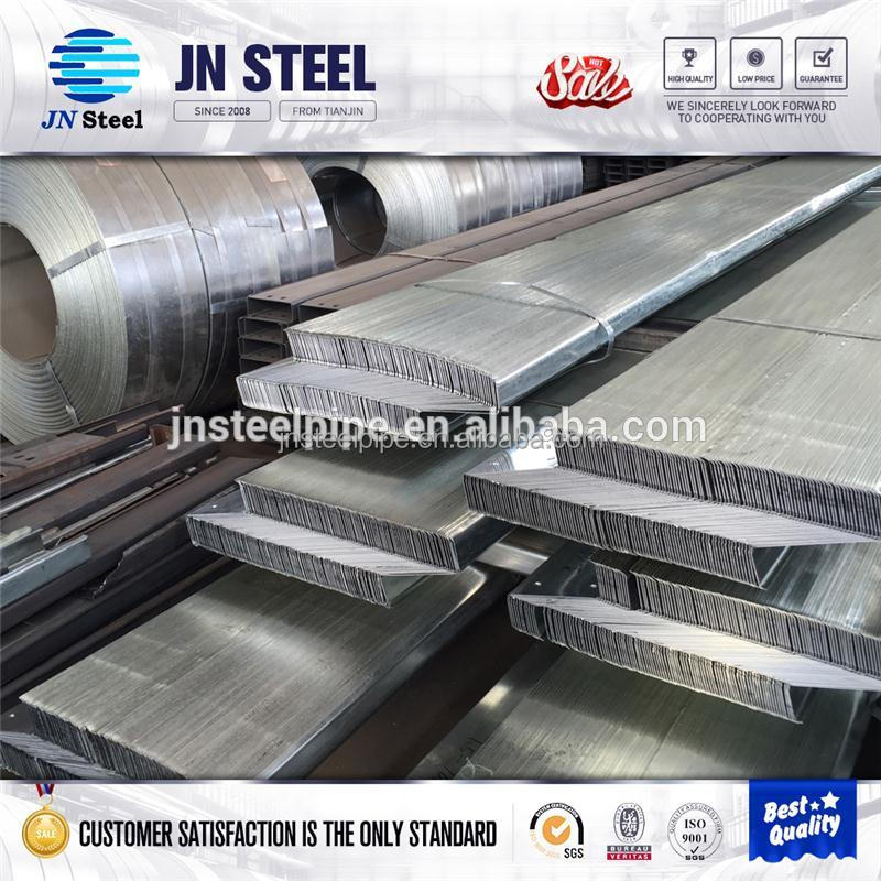 ASTM A500 saudi steel profile company with high quality