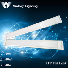 frosted cover two row strips 1.2m 40w led tube light led ceiling panel light
