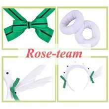 Rose-team Fantasia Anime Cosplay Made Love Live! Hoshizora Rin Maid Cosplay Costumes