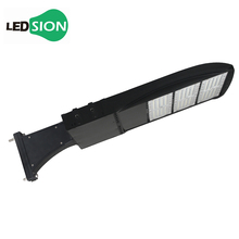 LED Shoe Box with Wall Direct Mount, 185W, AC 120-277V