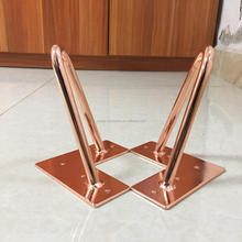 Good price copper metal hairpin leg
