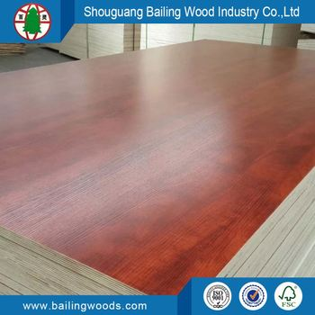 18mm Laminated Melamine Plywood Combic Core
