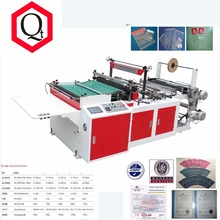 High quality & best price Hot cutting Side sealing bag making machine
