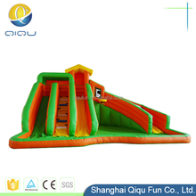 Cheap home use indoor commercial cheap big backyard commercial pool inflatable water slides from inflatable factory
