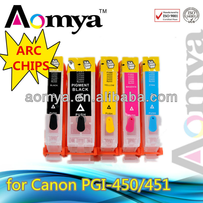 MADE IN CHINA! ink cartridge for canon ipf 9100/ 8100 for canon PGI525 CLI526