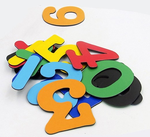 Unique Design Personalized Kids Alphabet Fridge Magnets
