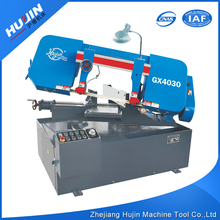 Logo Printed Unique Shape 2.2KW Semi Automatic Industrial Sewing Band Sawing Machine for Metal Used