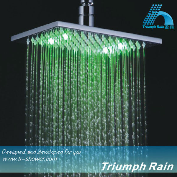 Color Change Mist Waterfall Hand Shower Heads Head
