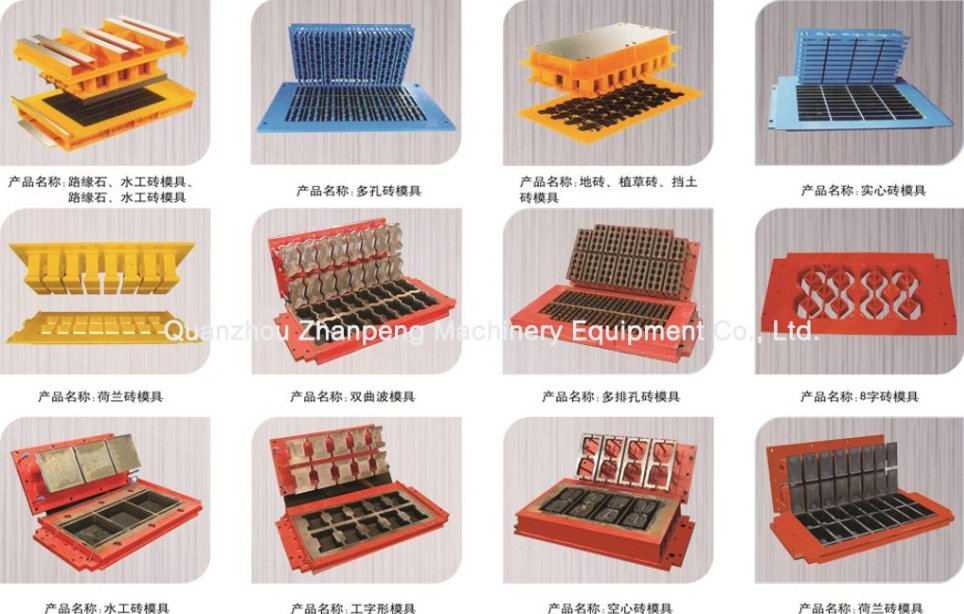 concrete clay mold road construction equipments new product small scale industries machine In Panama
