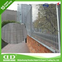 Welded Wire Dog Fence / Plastic Coated Fencing Mesh / Cheap Security Fence