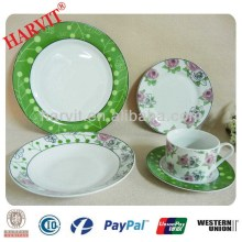 Rose Buds Pattern Royal Fine Porcelain Tableware Dishes&Plates/Germany Dinnerware Sets Porcelain Use Daily Home Items