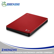 Hot Selling High Quality Aluminum USB 2.0 SATA External 2.5' HDD Enclosure/Hard Drive Case,1TB Capacity