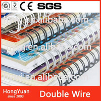 office & note book YO double wire, double wire o, Twin ring wire