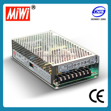 MIWI Q-120D 5V 12V 24V -12VDC 120W Quad output ac/dc switching power supply