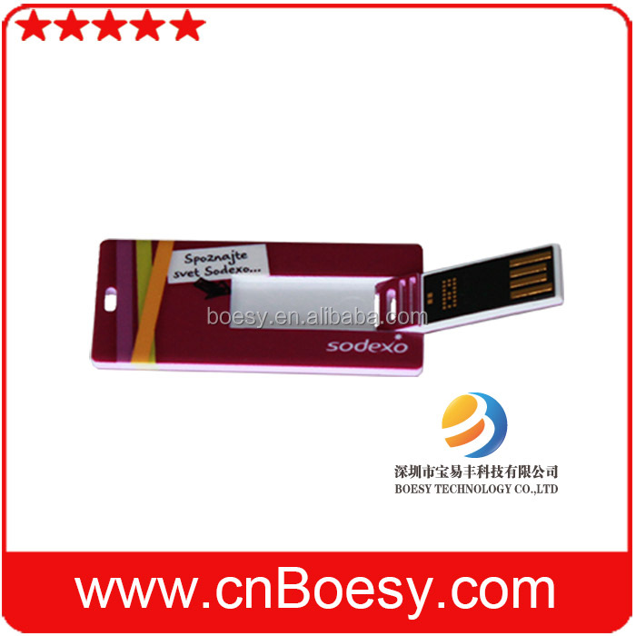 Capacity available 128MB-64GB, usb 2.0 memory USB Flash Drive, credit card type
