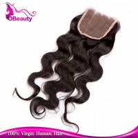 Boby wavy hair lace closure fringe bang with 100 human malaysian baby hair