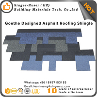 USA Standard 5.2mm Fish scale asphalt roof shingles, asphalt shingle manufacturers