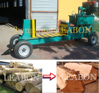 Horizontal Type Wood log cutter and splitter machine