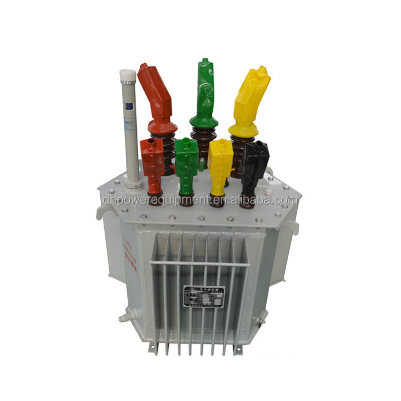 10kV three phase oil immersed power distribution transformer 63kva