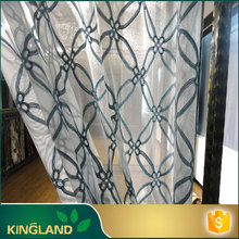 Factory price KINGLAND Natural curtains classic design in a restaurant