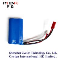 CE ROHS approved top quality 18650 3.6v 1300mah lithium titanate battery