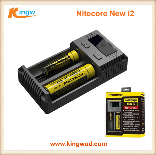 2016 nitecore new i2 with LCD display Battery Charger for 18650 battery in stock